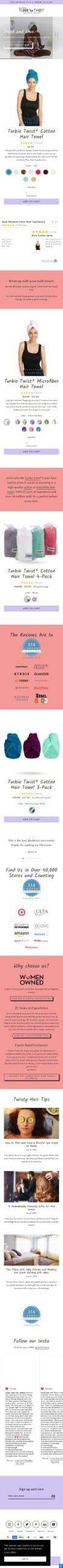 Turbie Twist Coupon