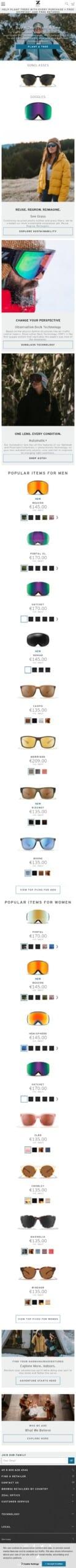 Zeal Optics Sunglasses & Goggles Coupon