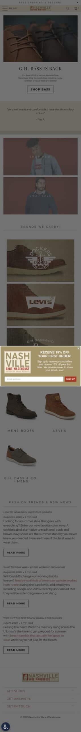 Dockers Shoes Coupon