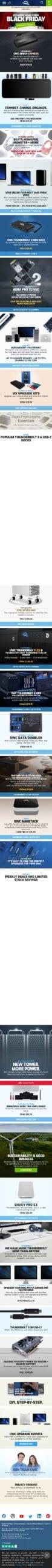 Mac Sales | Other World Computing Coupon