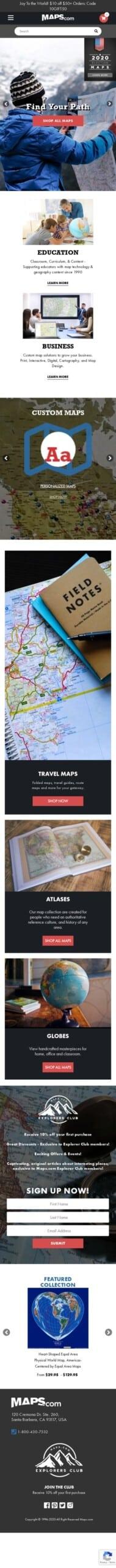 MAPS.com Shop Coupon