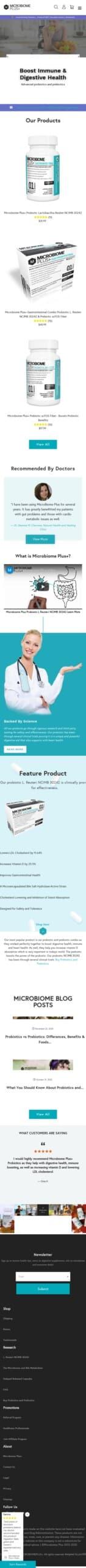 microbiomeplus.com Coupon