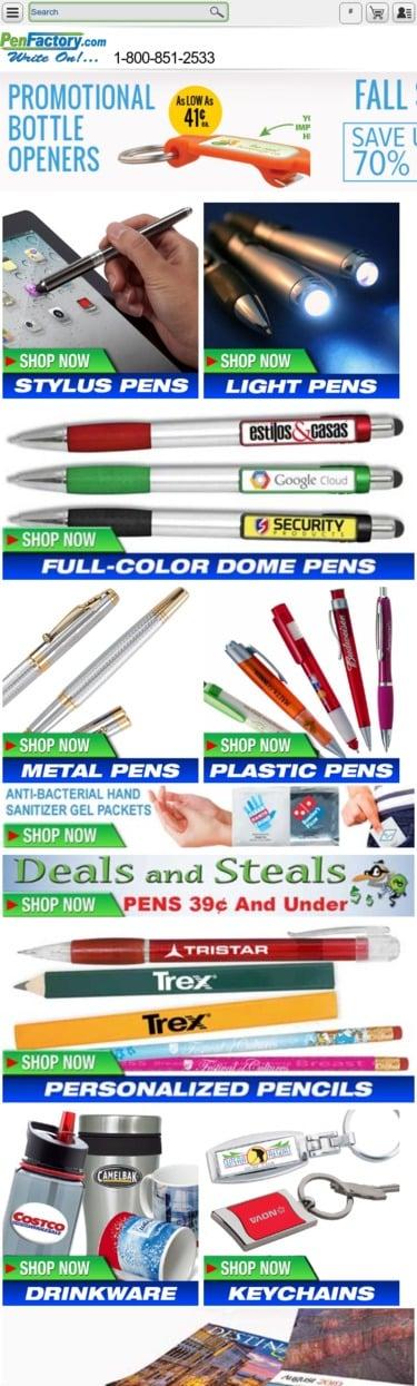 Pen Factory Coupon
