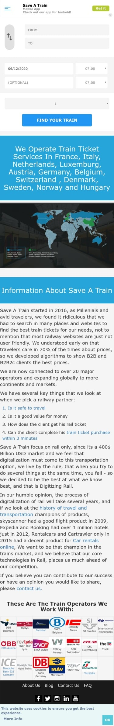 Save A Train Coupon