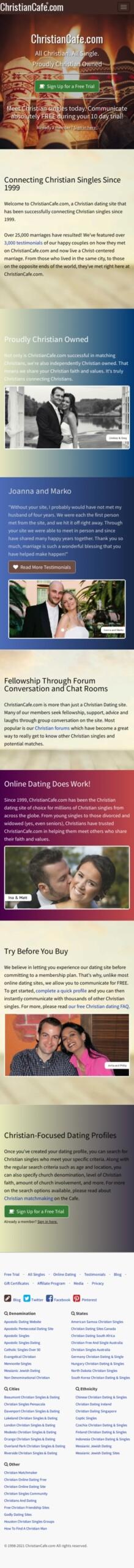 christiancafe.com Coupon