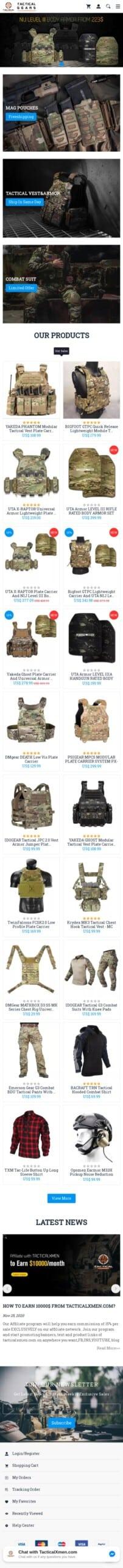 Tacticalxmen.com Coupon