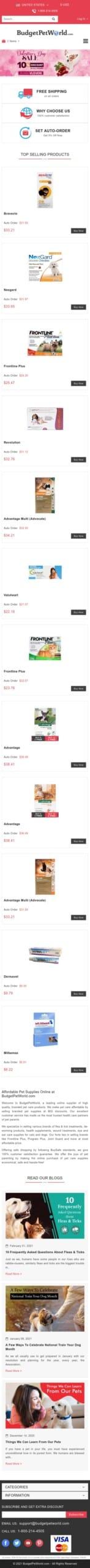 petcaresupplies.com Coupon