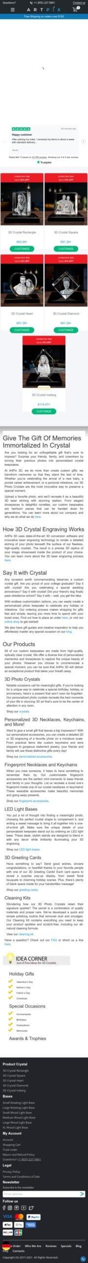 ArtPix 3D Affiliate Program Coupon