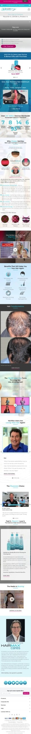 hairmax.com Coupon
