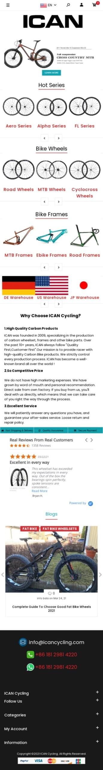 Shenzhen ICAN sports equipment Co.,Ltd Coupon
