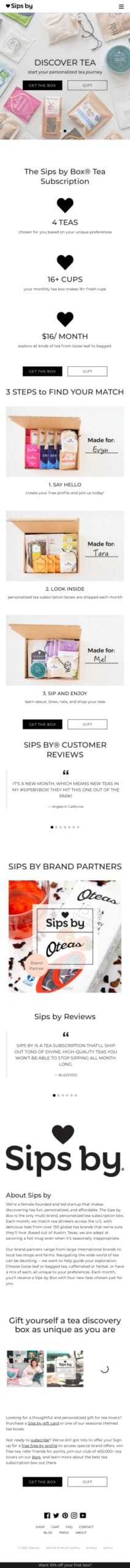 Sips by Coupon