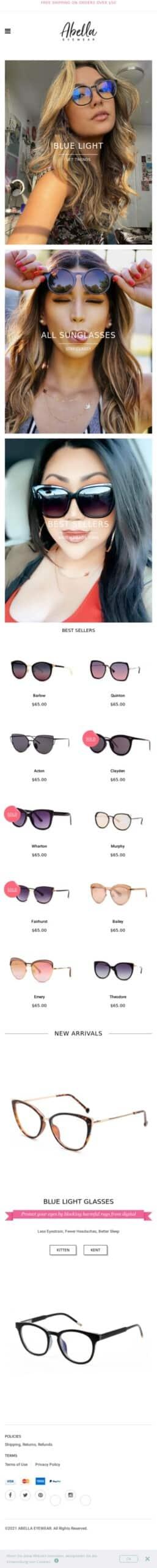 Abella Eyewear Coupon