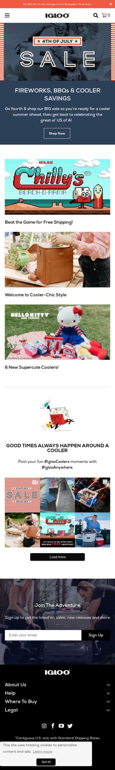 Igloo Coolers Coupon